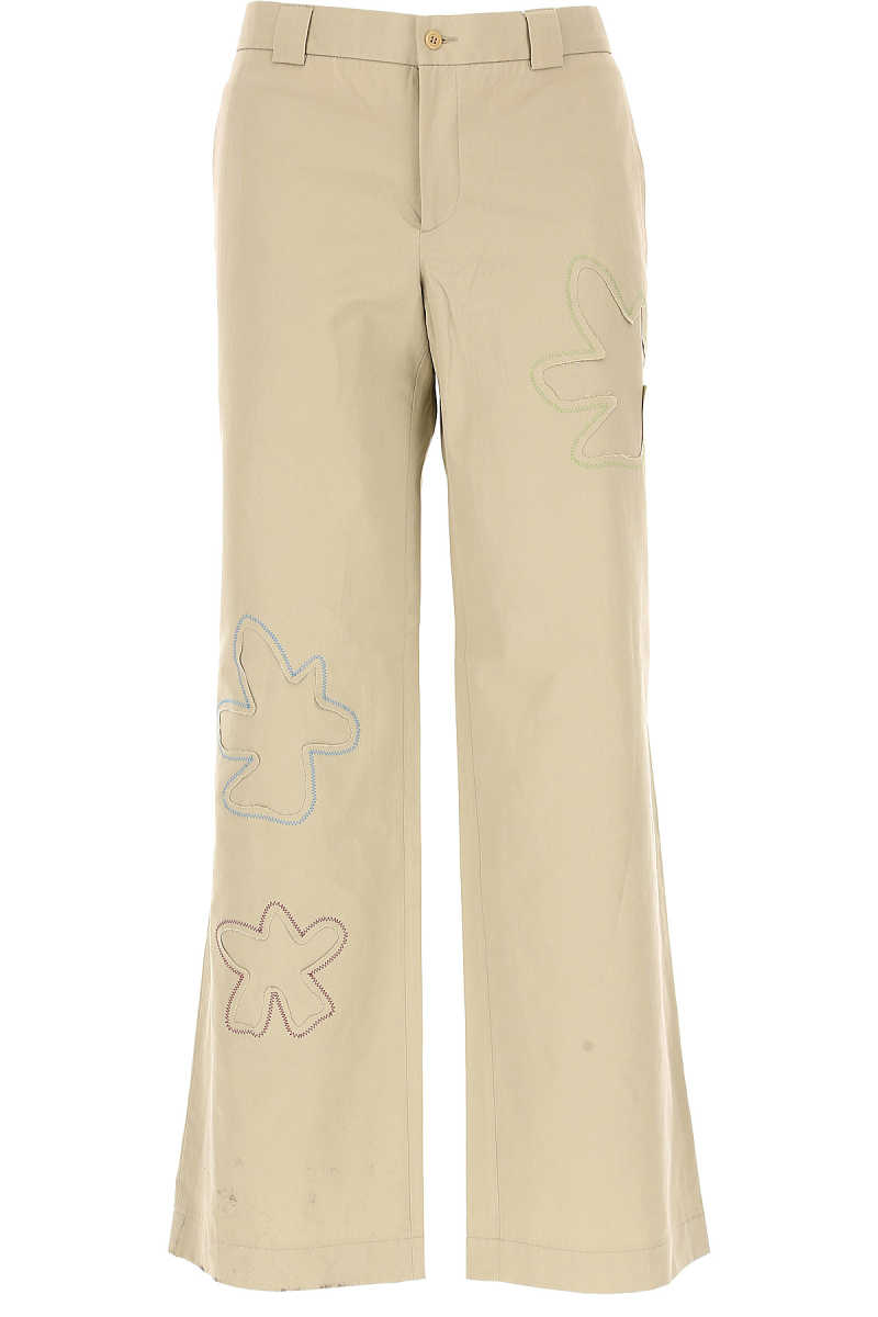 Moschino Pants for Men On Sale Beige DK - GOOFASH - Mens TROUSERS