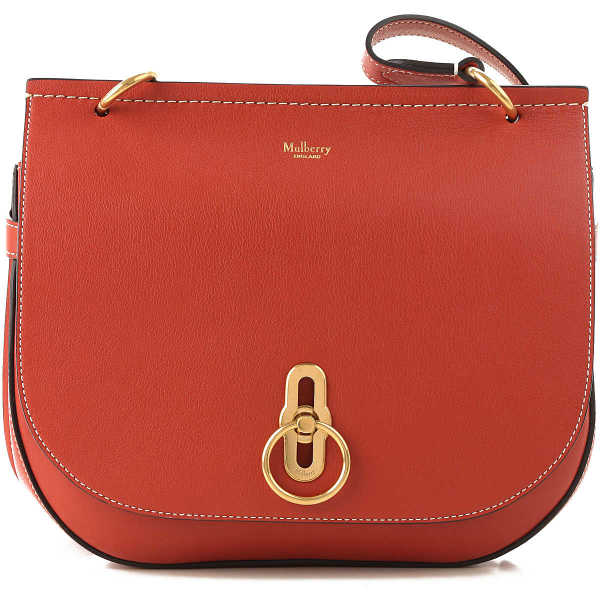 Mulberry Shoulder Bag for Women On Sale Burnt Red DK - GOOFASH - Womens BAGS