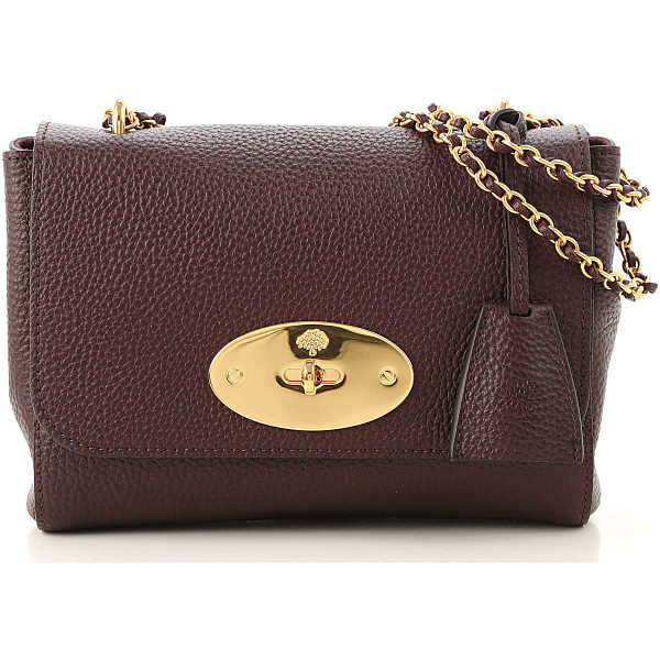 Mulberry Shoulder Bag for Women On Sale oxblood DK - GOOFASH - Womens BAGS
