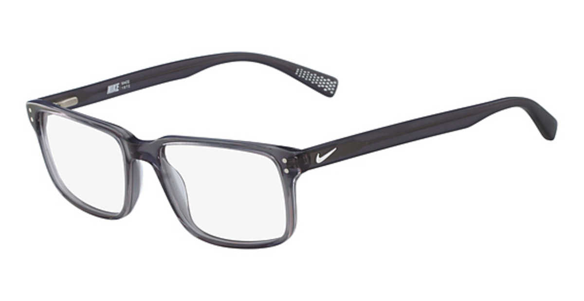 Nike NIKE 7240 Eyeglasses (070) Grey USA - GOOFASH - Mens SUNGLASSES