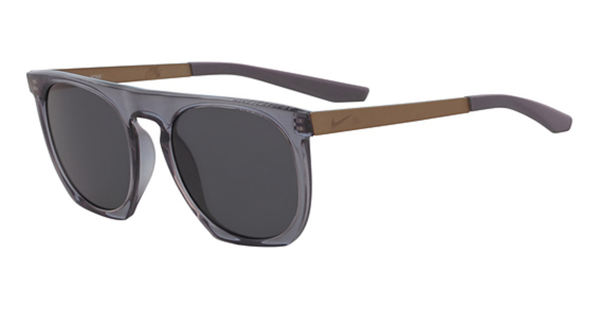 Nike NIKE FLATSPOT SE M EV 1115 Sunglasses (080) GUNSMOKE/DARK GREY W/ BLACK M USA - GOOFASH - Mens SUNGLASSES