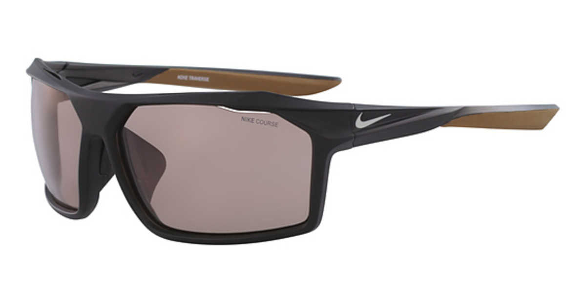 Nike NIKE TRAVERSE E EV 1070 Sunglasses (066) MT BLACK/LT BONE/COURSE TINT USA - GOOFASH - Mens SUNGLASSES
