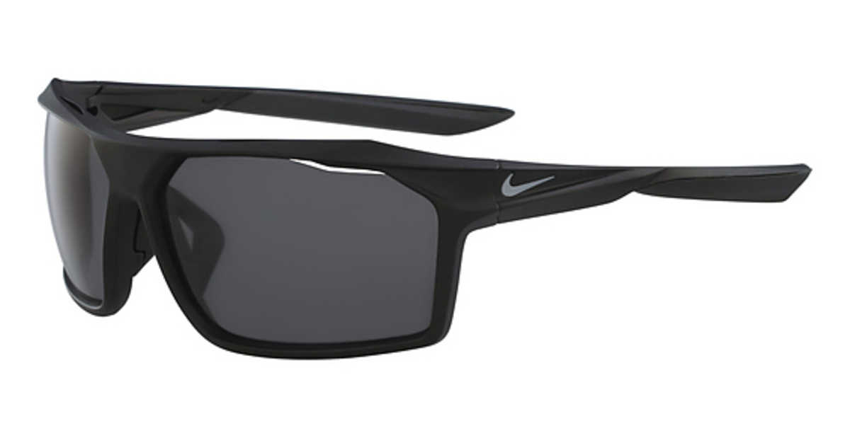 Nike NIKE TRAVERSE P EV 1043 Sunglasses (001) Matte Black/Polarized Grey USA - GOOFASH - Mens SUNGLASSES