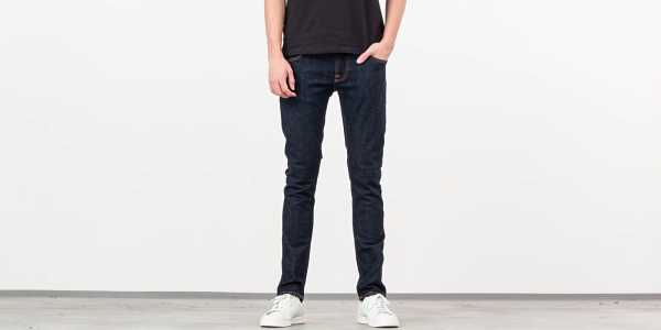 Nudie Jeans Tight Terry Rinse Twill USA - GOOFASH - Mens JEANS