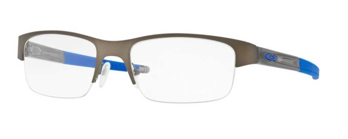 Oakley CROSSLINK 0.5 OX 3226 Eyeglasses 02 Pewter USA - GOOFASH - Mens SUNGLASSES