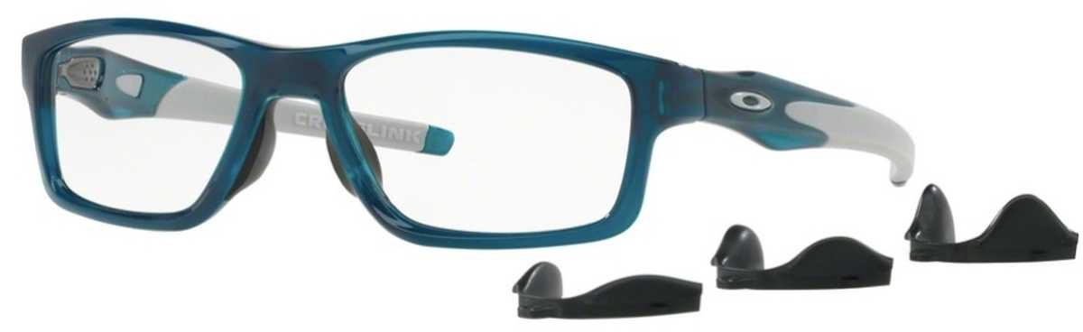 Oakley Crosslink MNP OX 8090 Eyeglasses 05 Polished Aurora USA - GOOFASH - Mens SUNGLASSES