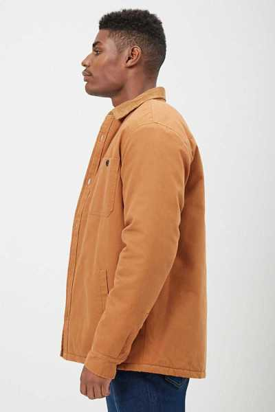 Padded Canvas Button Jacket at Forever 21