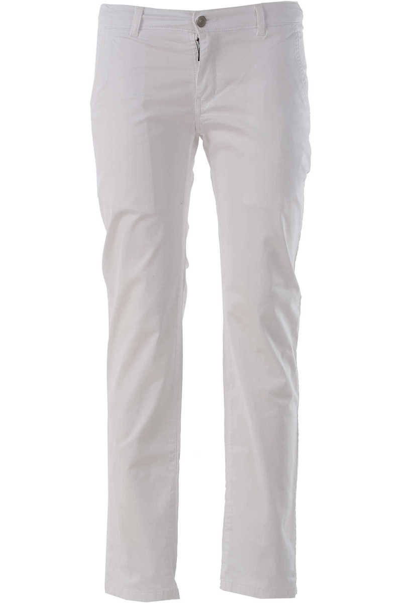 Paolo Pecora Kids Pants for Boys On Sale in Outlet White DK - GOOFASH - Mens TROUSERS