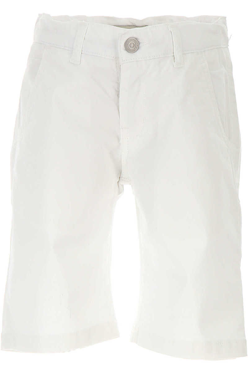 Paolo Pecora Kids Shorts for Boys On Sale in Outlet White DK - GOOFASH - Mens SHORTS
