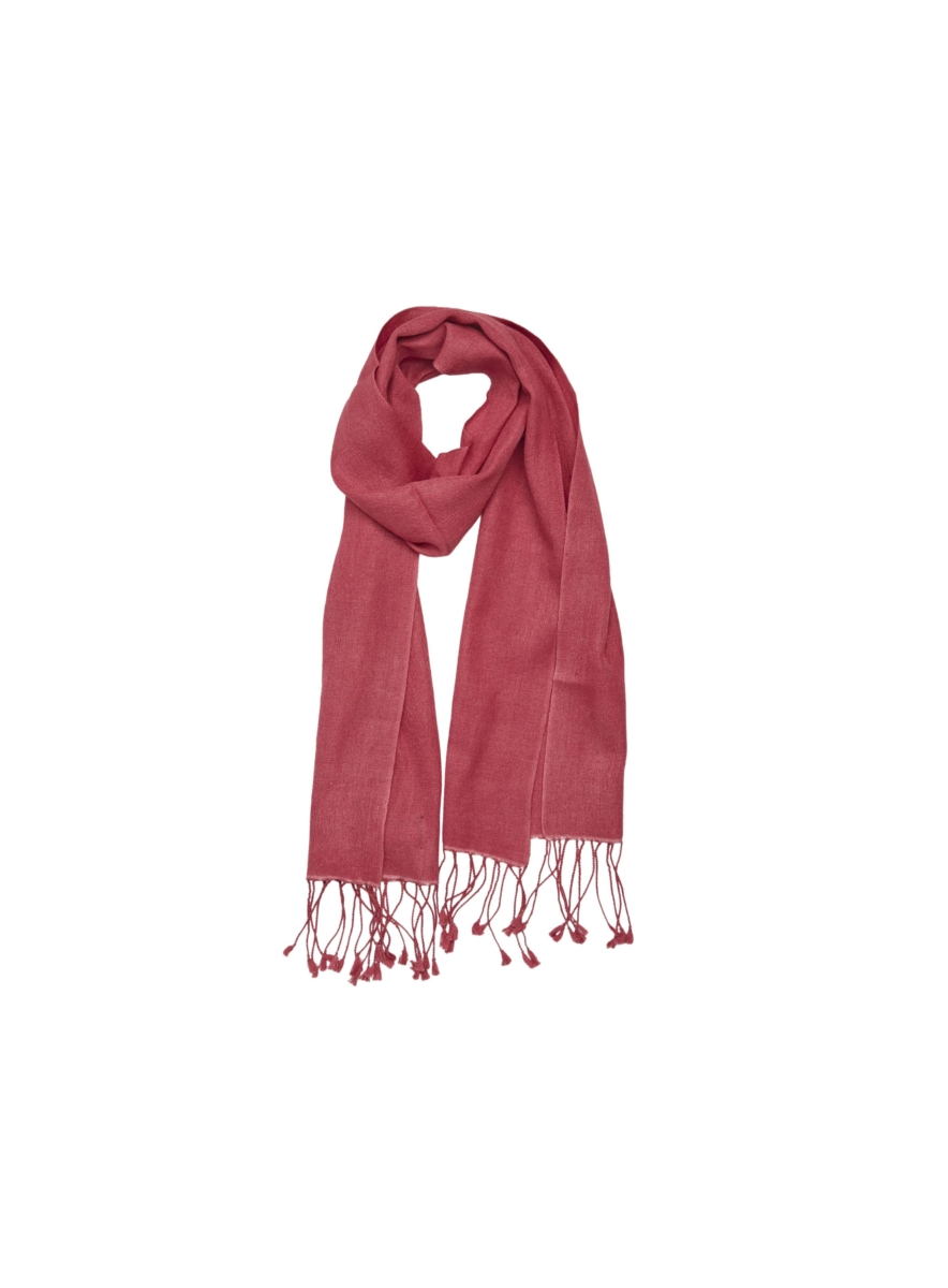 Pashmina and Silk Scarf Pink USA - GOOFASH - Womens SCARFS