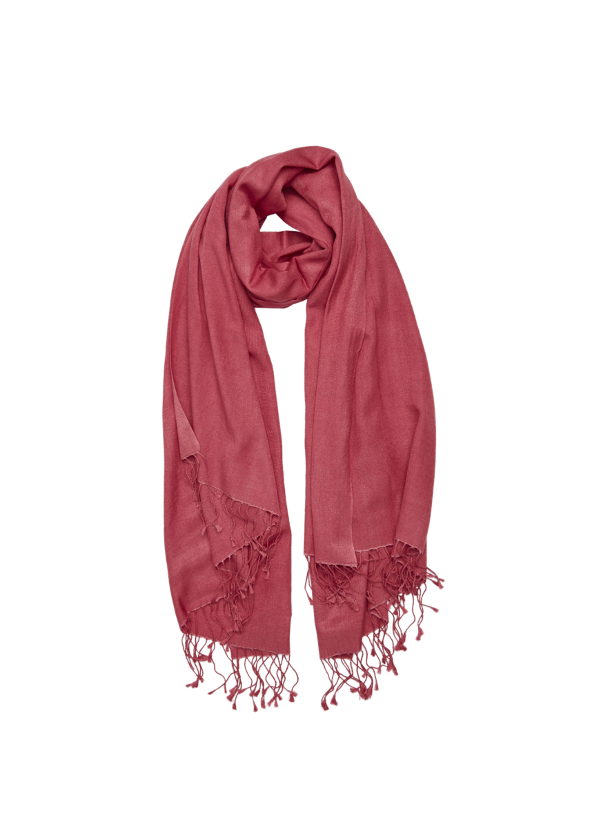 Pashmina and Silk Shawl Pink USA - GOOFASH - Womens SCARFS