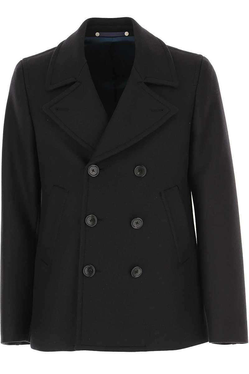 Paul Smith Men's Coat dark Navy DK - GOOFASH - Mens COATS