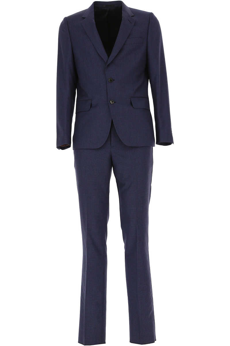 Paul Smith Men's Suit Midnight Blue DK - GOOFASH - Mens SUITS