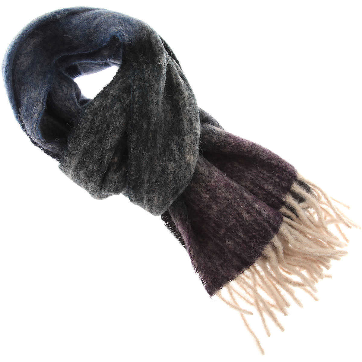 Paul Smith Scarf for Women On Sale navy DK - GOOFASH - Womens SCARFS