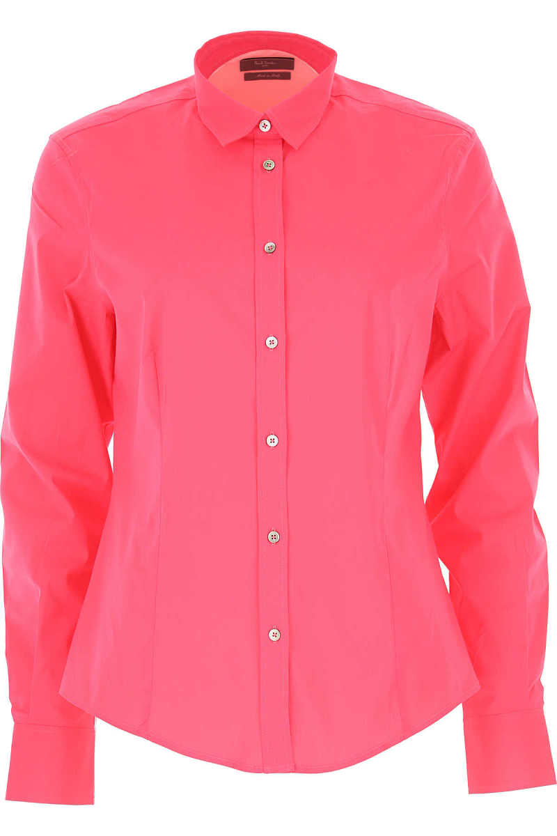 Paul Smith Shirt for Women On Sale in Outlet Fuchsia DK - GOOFASH - Womens SHIRTS