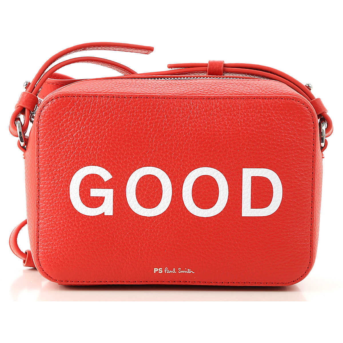 Paul Smith Shoulder Bag for Women On Sale Red DK - GOOFASH - Womens BAGS