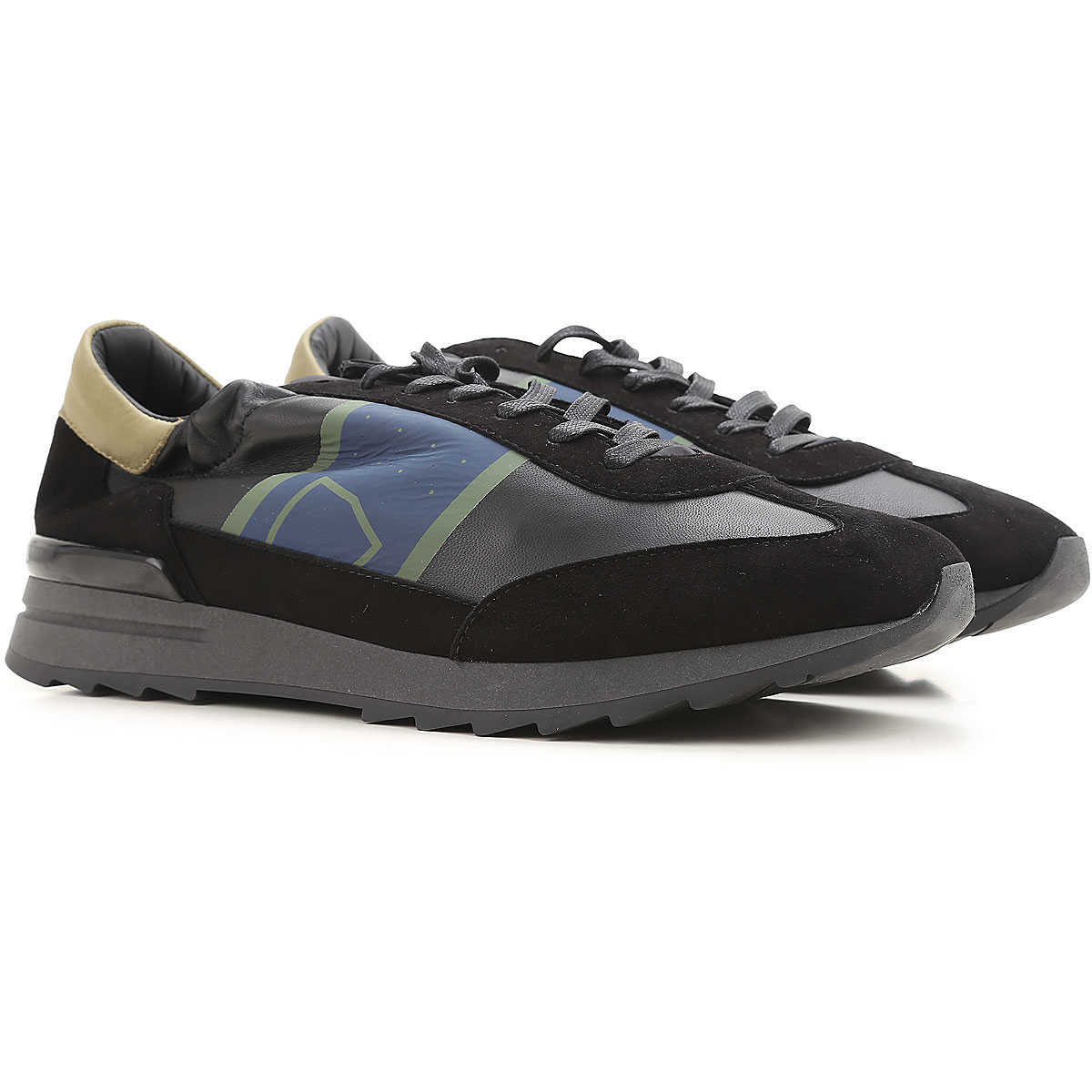 Philippe Model Sneakers for Men On Sale in Outlet Black DK - GOOFASH - Mens SNEAKER