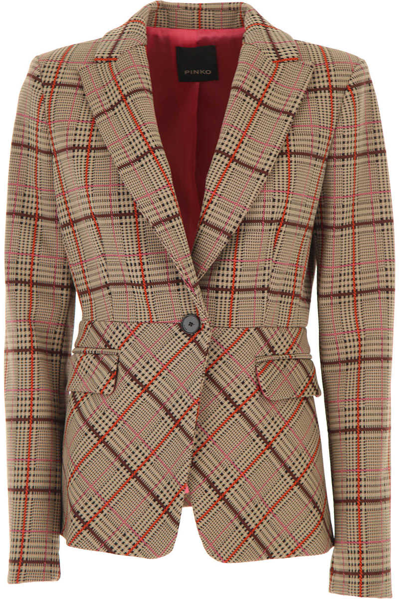 Pinko Blazer for Women Brown DK - GOOFASH - Womens BLAZER