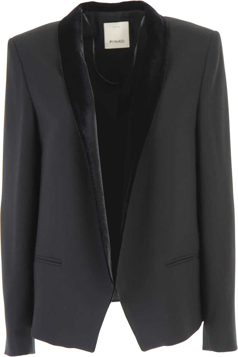 Pinko Blazer for Women On Sale in Outlet Black DK - GOOFASH - Womens BLAZER