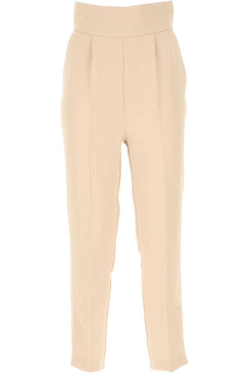 Pinko Pants for Women On Sale Beige DK - GOOFASH - Womens TROUSERS