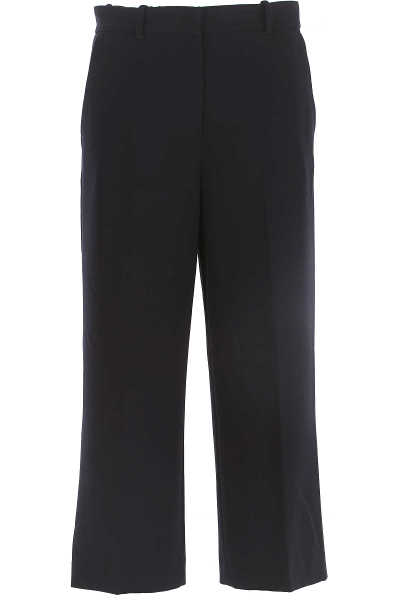 Pinko Pants for Women On Sale in Outlet Ink Blue DK - GOOFASH - Womens TROUSERS
