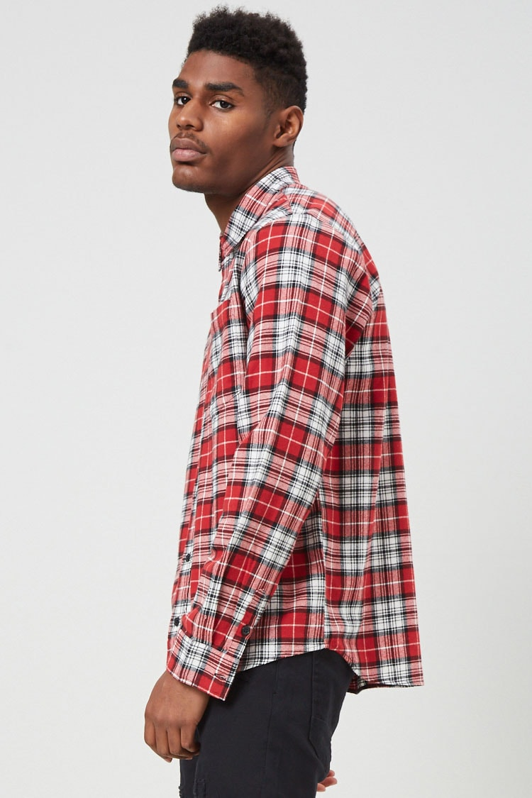 Plaid Flannel Shirt at Forever 21