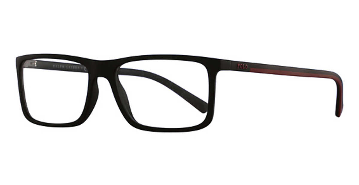 Polo PH 2178 Eyeglasses Matte Black USA - GOOFASH - Mens POLOSHIRTS