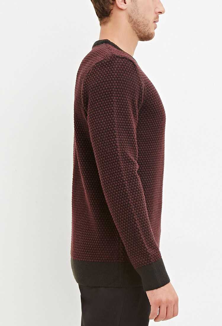 Popcorn Knit Sweater at Forever 21