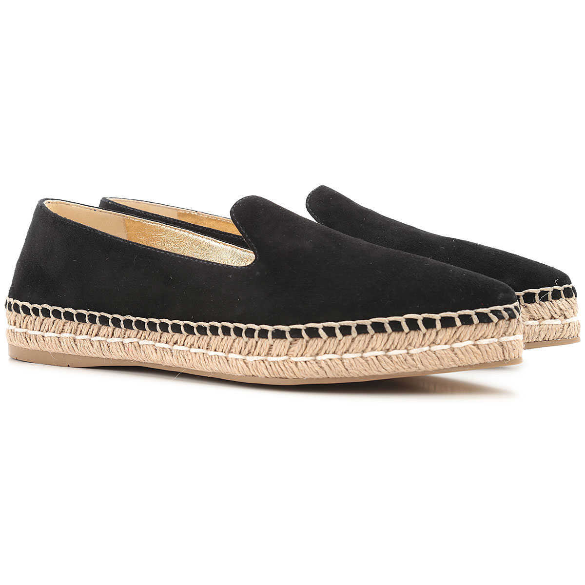 Prada Loafers for Women On Sale in Outlet Black DK - GOOFASH - Womens FLAT SHOES