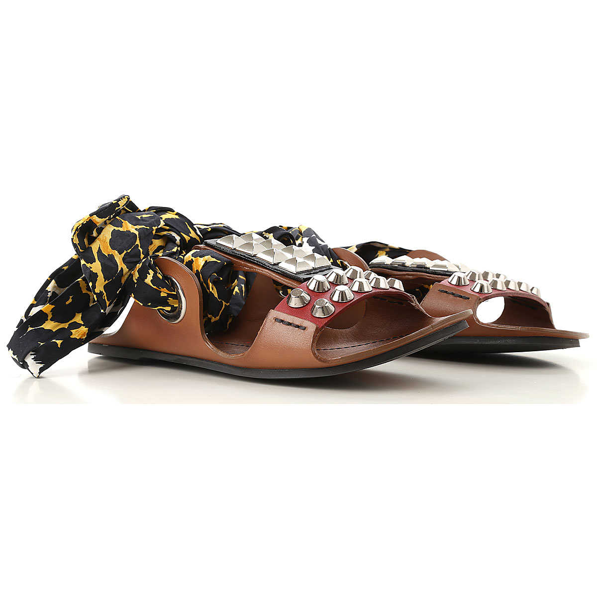 Prada Sandals for Women On Sale in Outlet nut DK - GOOFASH - Womens SANDALS
