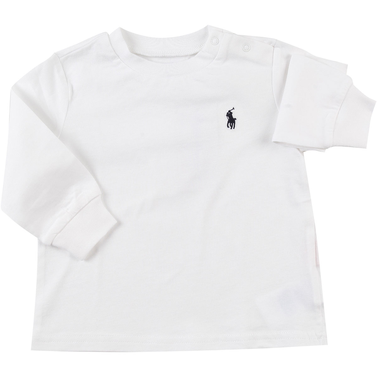 Ralph Lauren Baby T-Shirt for Boys On Sale in Outlet White DK - GOOFASH - Mens T-SHIRTS