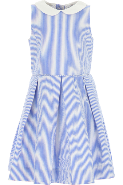 Ralph Lauren Girls Dress On Sale White DK - GOOFASH - Womens DRESSES