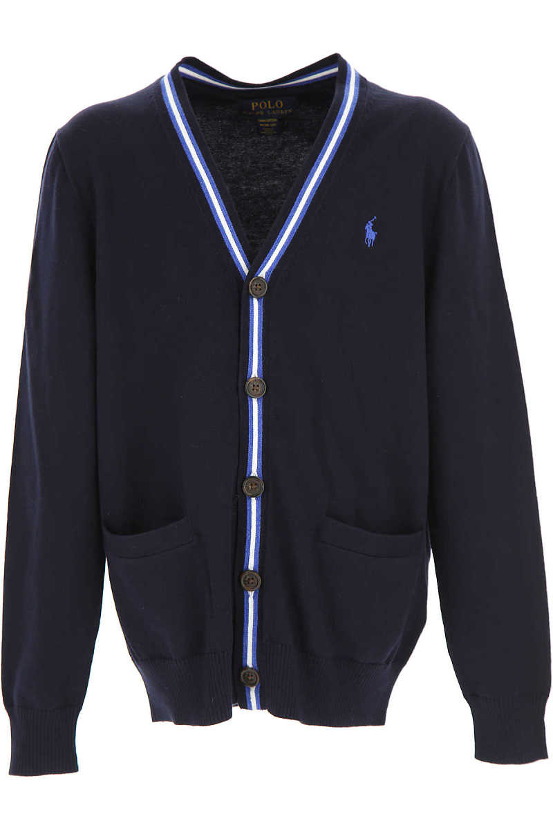 Ralph Lauren Kids Sweaters for Boys On Sale in Outlet navy DK - GOOFASH - Mens SWEATERS