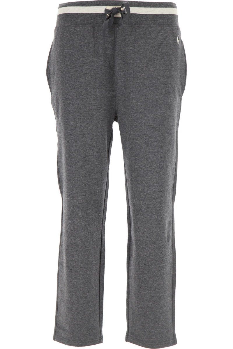 Ralph Lauren Pants for Men On Sale Asphalt Grey DK - GOOFASH - Mens TROUSERS