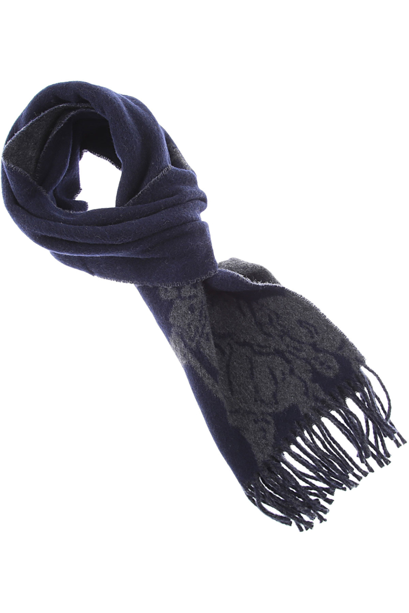 Ralph Lauren Scarf for Men Grey DK - GOOFASH - Mens SCARFS