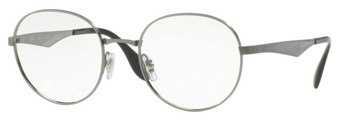Ray Ban Glasses RX 6343 Eyeglasses Gunmetal USA - GOOFASH - Mens SUNGLASSES