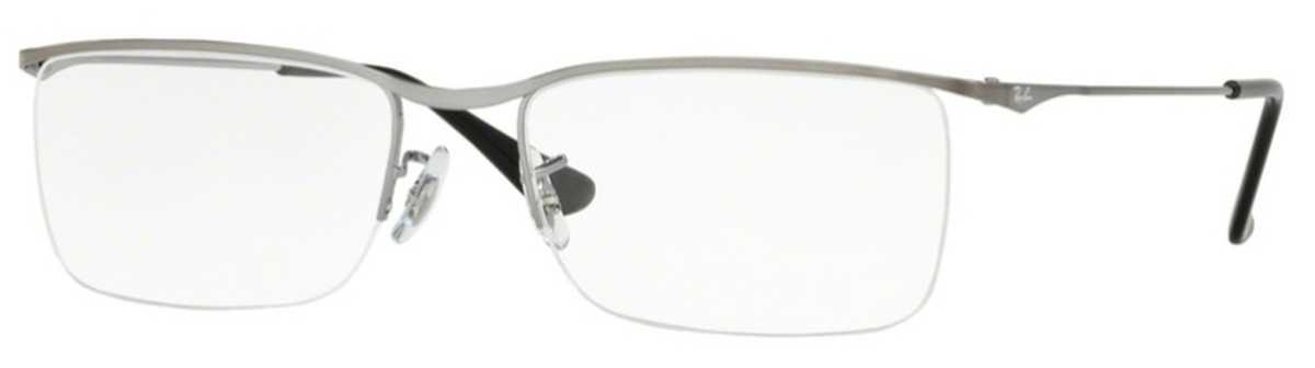 Ray Ban Glasses RX 6370 Eyeglasses Gunmetal USA - GOOFASH - Mens SUNGLASSES