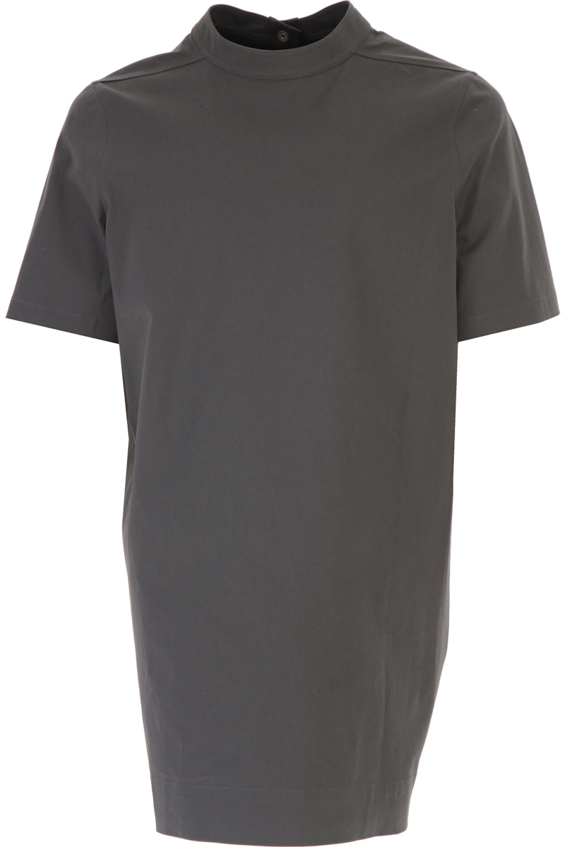 Rick Owens T-Shirt for Men On Sale in Outlet Iron DK - GOOFASH - Mens T-SHIRTS