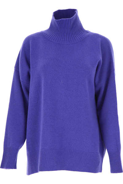 Roberto Collina Sweater for Women Jumper Bluette DK - GOOFASH - Womens SWEATERS