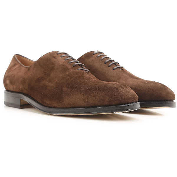 Salvatore Ferragamo Lace Up Shoes for Men Oxfords Derbies and Brogues On Sale in Outlet DK - GOOFASH - Mens FORMAL SHOES