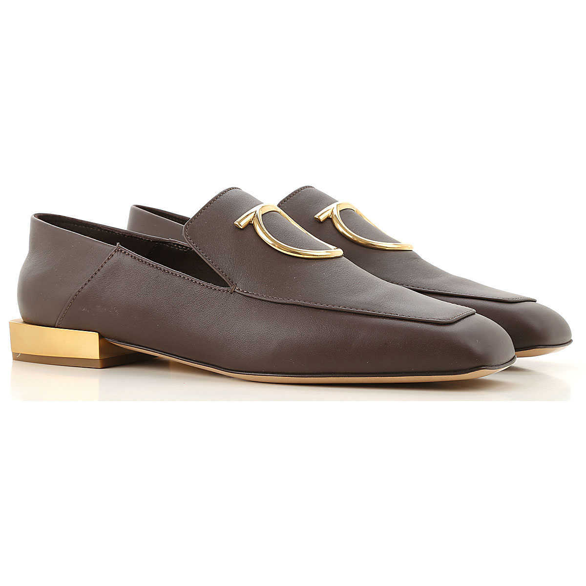 Salvatore Ferragamo Loafers for Women Chocolate DK - GOOFASH - Womens FLAT SHOES