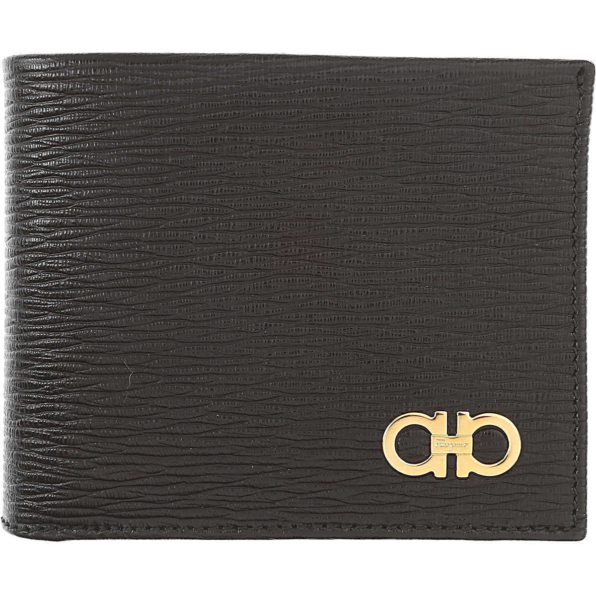 Salvatore Ferragamo Mens Wallets On Sale Black DK - GOOFASH - Mens WALLETS
