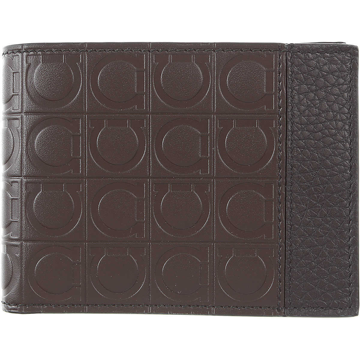 Salvatore Ferragamo Wallet for Men On Sale Brown DK - GOOFASH - Mens WALLETS