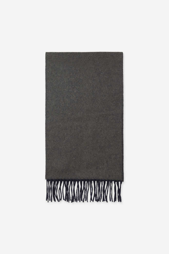 Samsoe & Samsoe Timothy Scarf - Night Sky Deep Depths DK - GOOFASH - Mens SCARFS