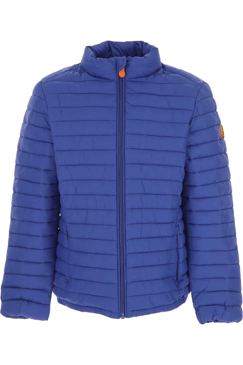 Save the Duck Boys Down Jacket for Kids Puffer Ski Jacket On Sale DK - GOOFASH - Mens JACKETS