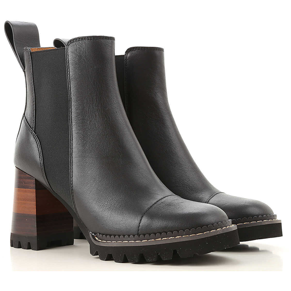 See By Chloe Boots for Women Booties DK - GOOFASH - Womens BOOTS