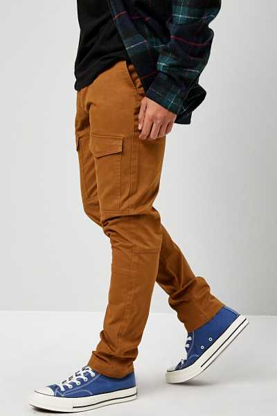 Slim-Fit Cargo Pants at Forever 21