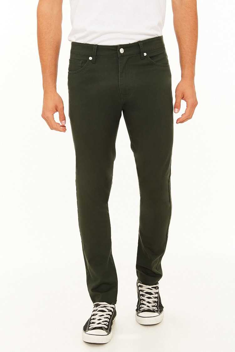 Slim-Fit Pants at Forever 21