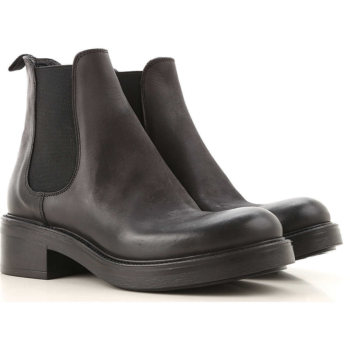 Strategia Chelsea Boots for Women Black DK - GOOFASH - Womens BOOTS