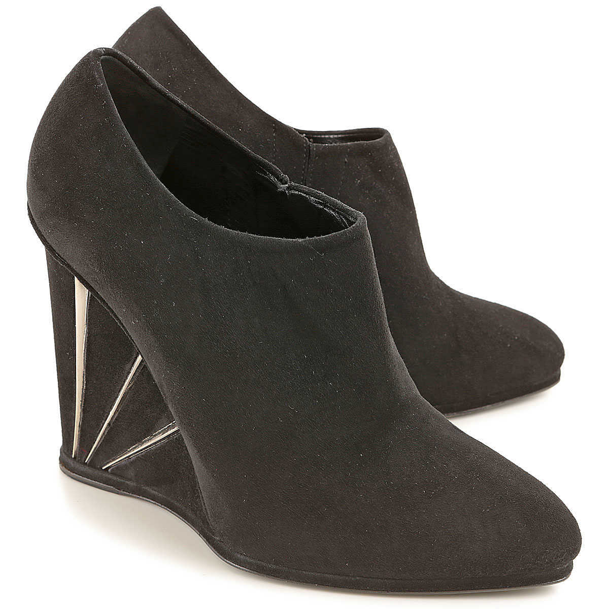 Stuart Weitzman Wedges for Women On Sale in Outlet Black DK - GOOFASH - Womens HOUSE SHOES